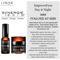 July Synergie Promotion Improve Eyes