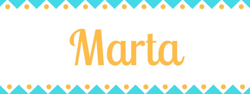 Significado Del Nombre Marta Origen Y Significado De Marta