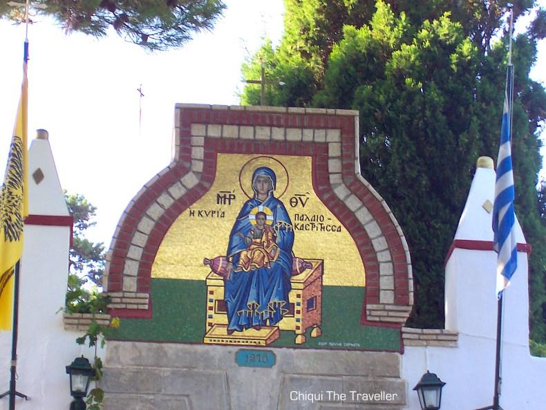 Monasterio de Paleokastritsa Corfu Grecia