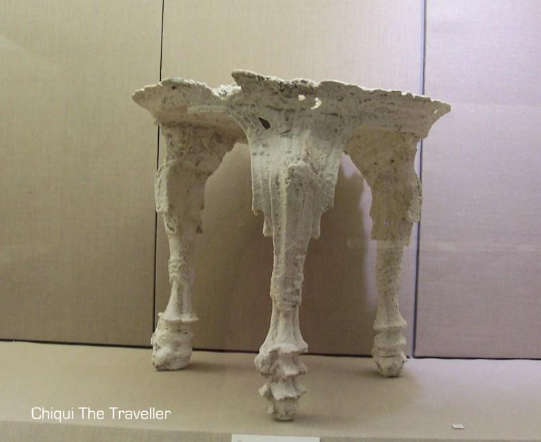 Museo prehistoria de Thera Santorini Fira