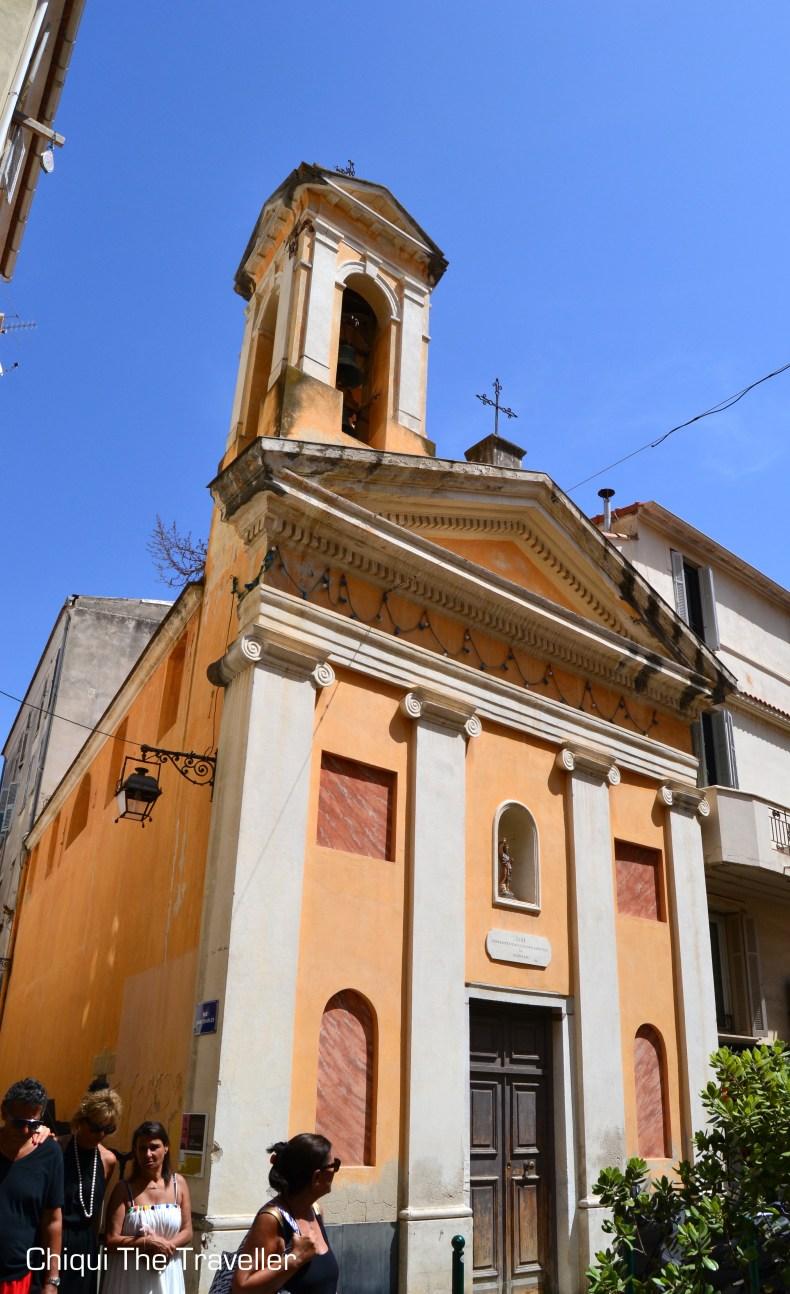 Iglesia Corcega Ajaccio
