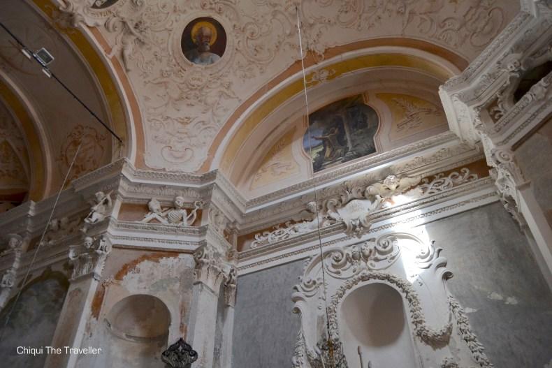 Oratorio dei Neri huesos iglesia Monterosso al Mare