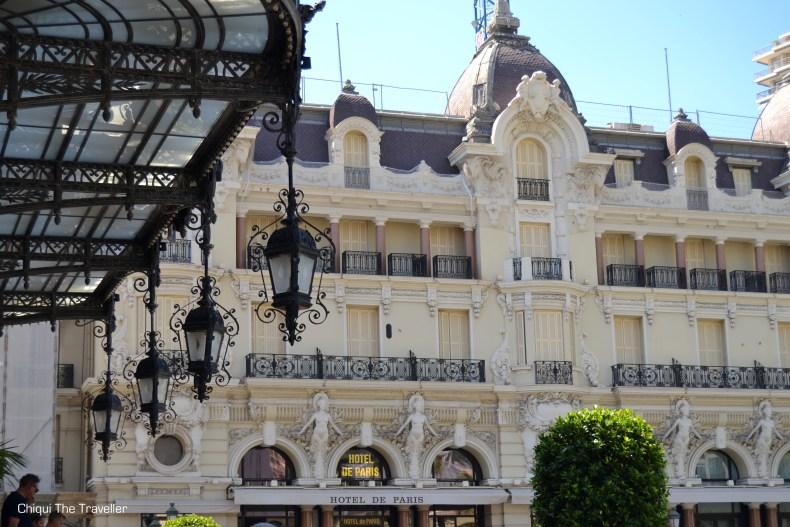 Hotel de Paris Montecarlo Monaco