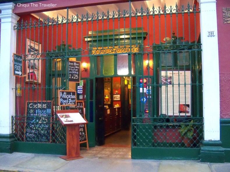 Barranco Lima casa