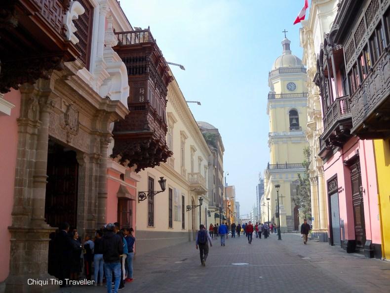 Centro de Lima Perú