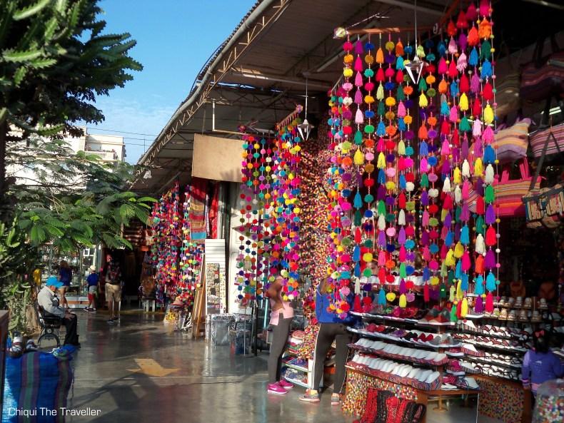 Mercado artesanal Lima Perú