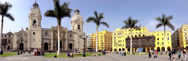 Plaza de Armas Lima Catedral