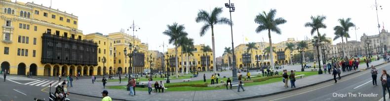 Plaza de Armas Lima Perú