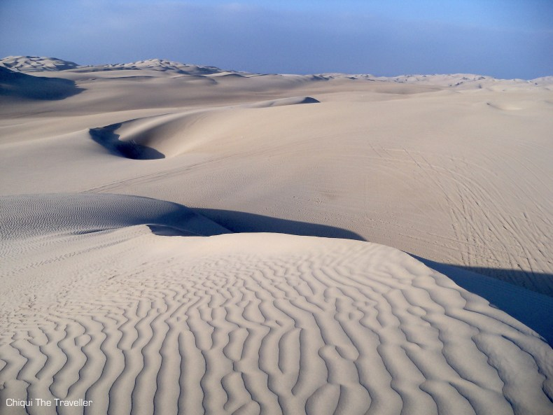 Desierto Paracas duna Perú