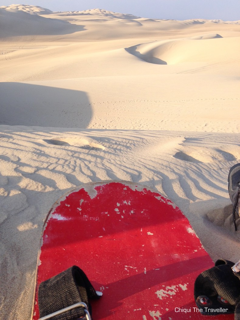 Desierto Paracas Sandboard