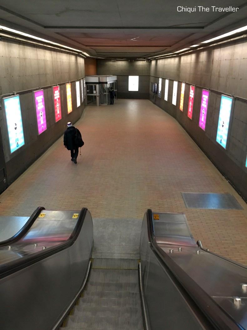 Metro Bonaventure Montreal