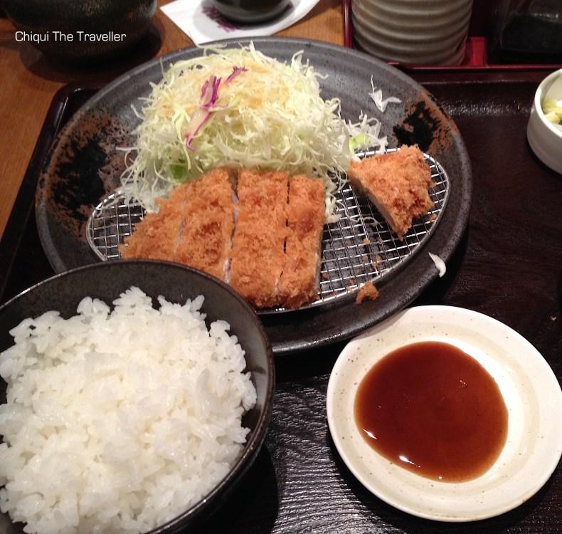 Tonkatsu comida japonesa