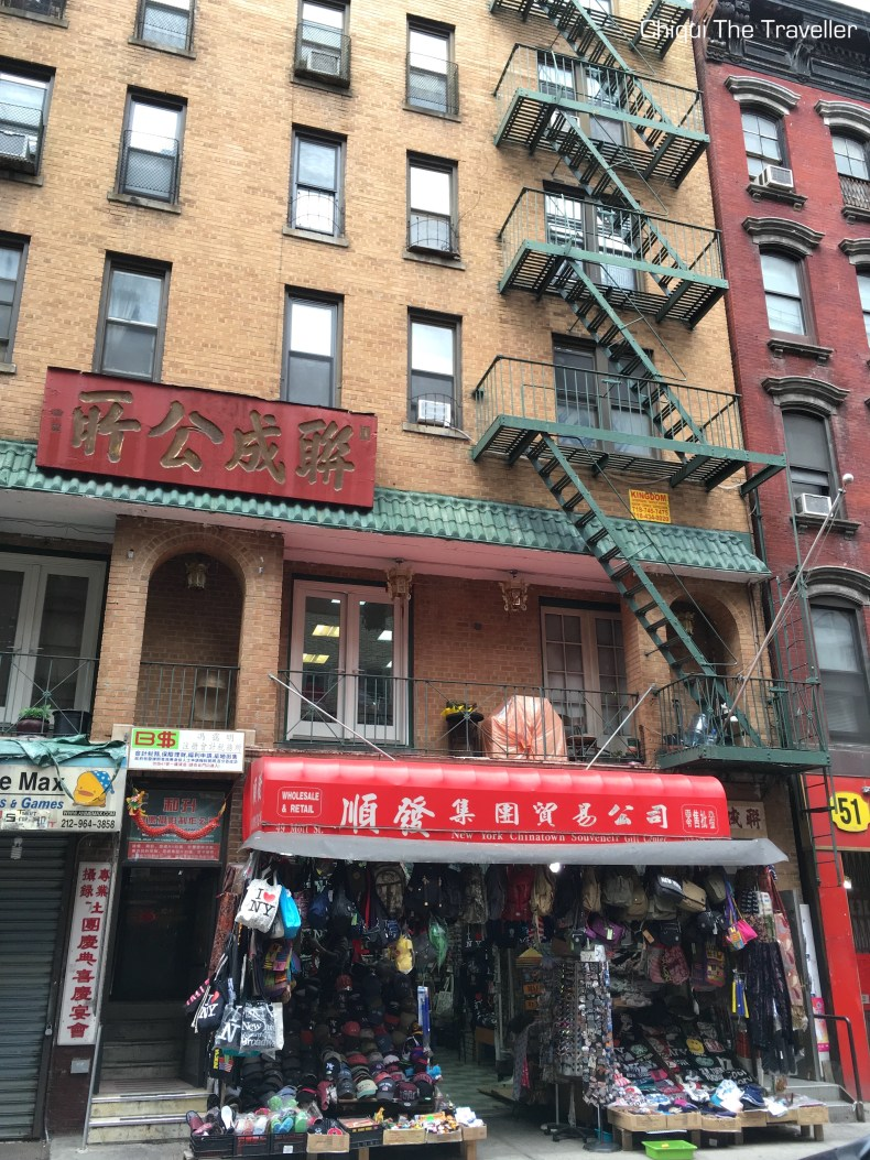 Chinatown Nueva York Escaleras