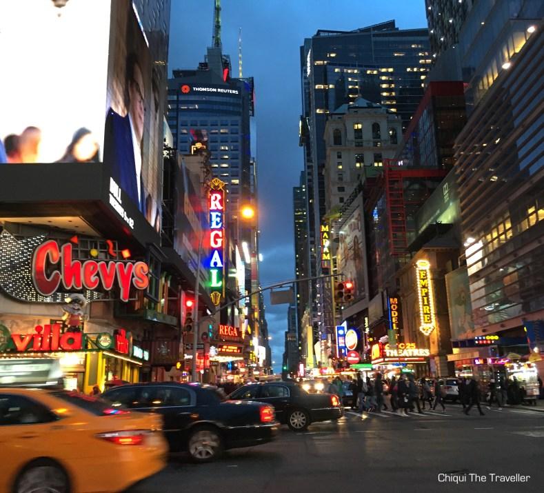 West 42 Street Nueva York Teatros