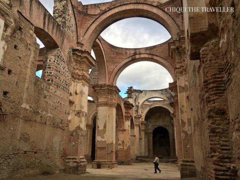 Ruinas catedral Antigua Guatemala