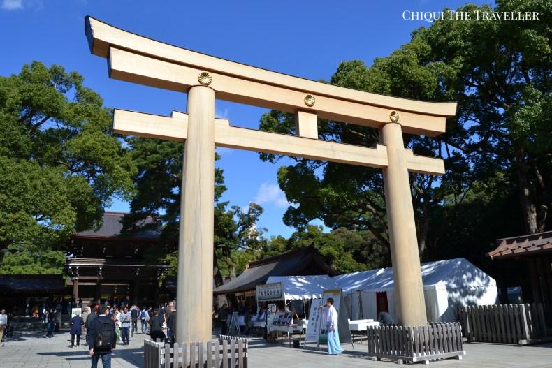 Meiji-jingū torii