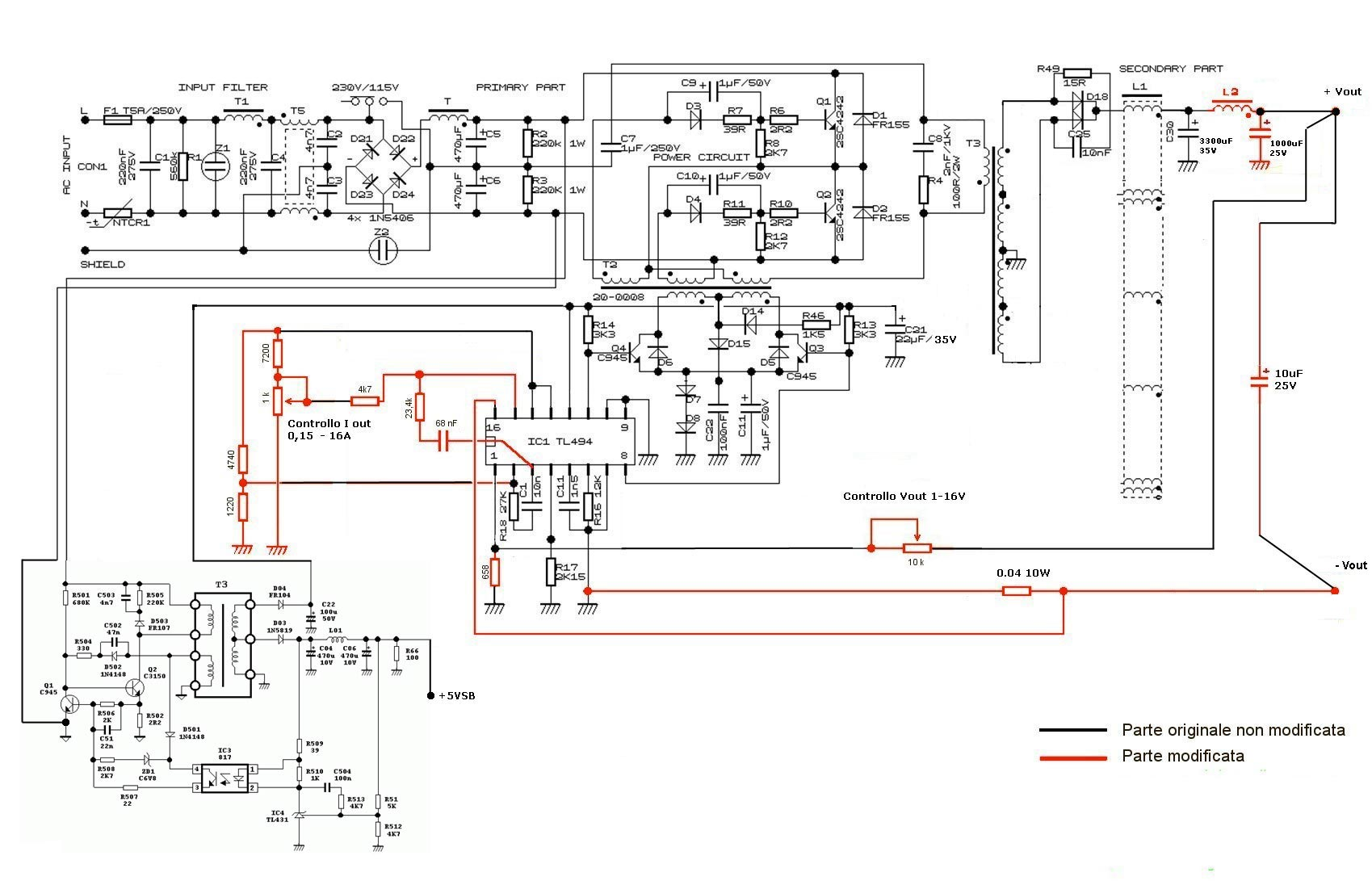 Voltage Regulator With Constant Current Limiting Schematicrev4