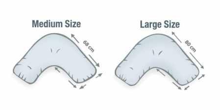 Banana Pillow Size