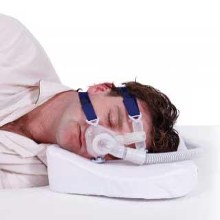 Sleep apnea pillow