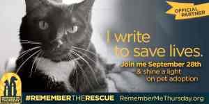 Remember me Thursday pet adoption
