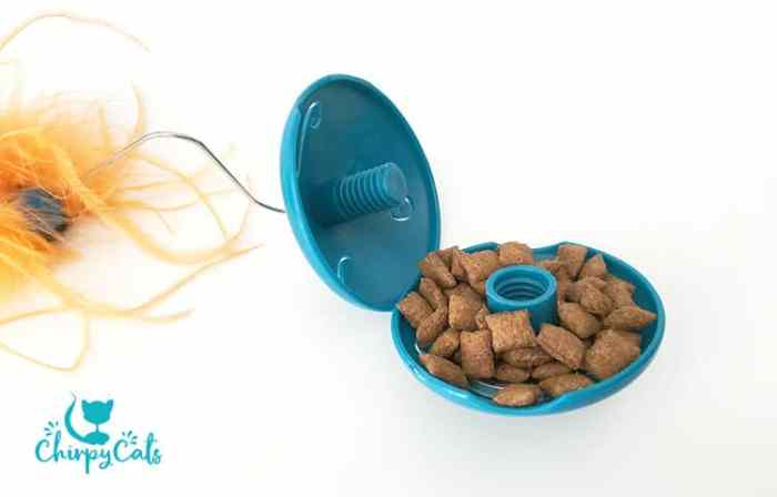 twist and treat teaser puzzle food dispenser