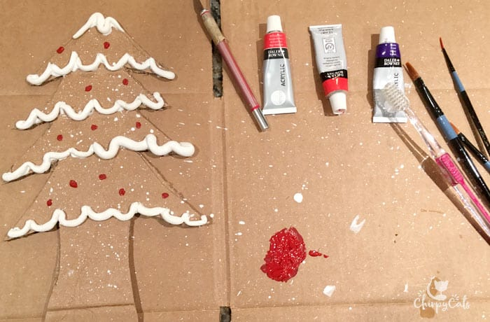 How to make a Christmas gingerbread tree