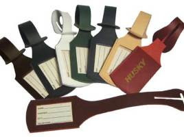 Amaze Your Colleagues With a Gift of Promotional Leather Luggage Tags