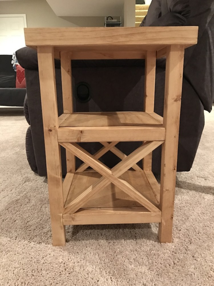 X End Table