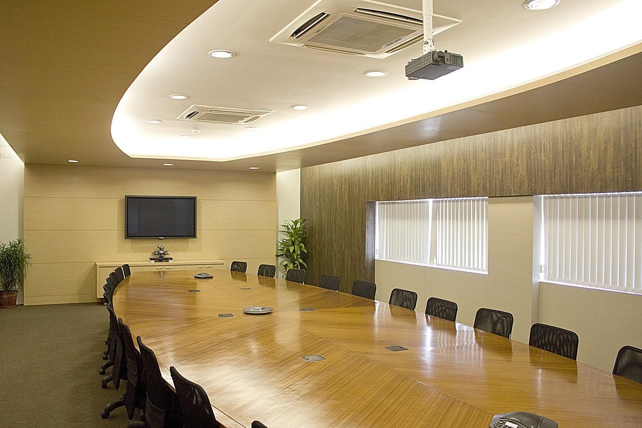 きれいな会議室