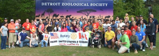 Rotary Day at the Zoo