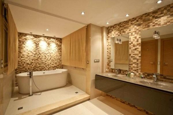 baños color claro