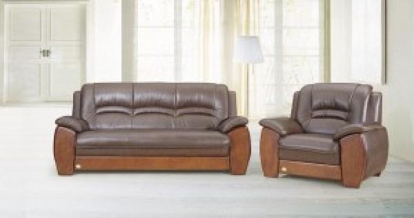 sofa clasico madera