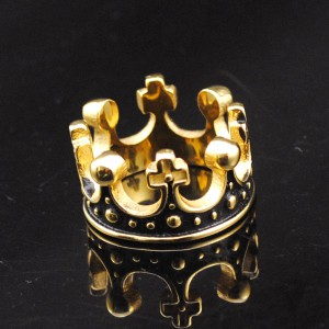 2016-Hot-moda-18-K-chapado-en-oro-corona-de-acero-inoxidable-anillos-hombres-dominantes-de
