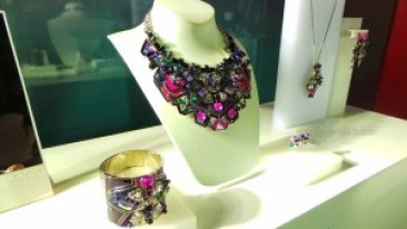 Swarovski Fall Winter 2014 2015 Facets of Light Collection necklace jewel tones