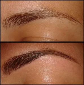 antes y despues cejas