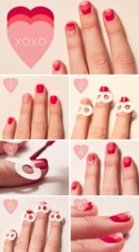 unas-pintadas-nail-art-san-valentin-corazones-como-hacer