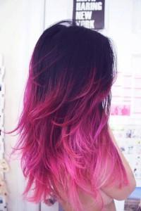 Pelo degradado mechas californianas fantasy hair (5)
