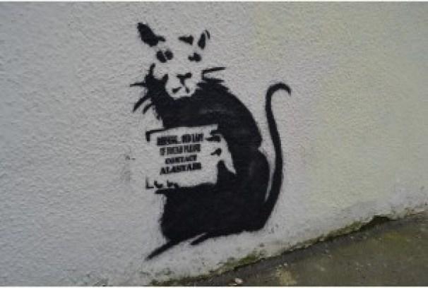 el arte Banksy