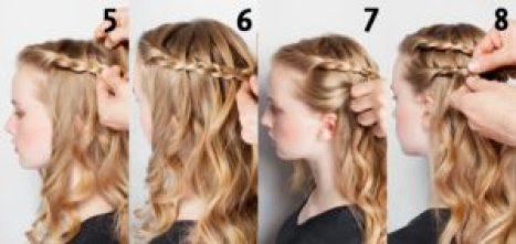 peinado con pelo suelto