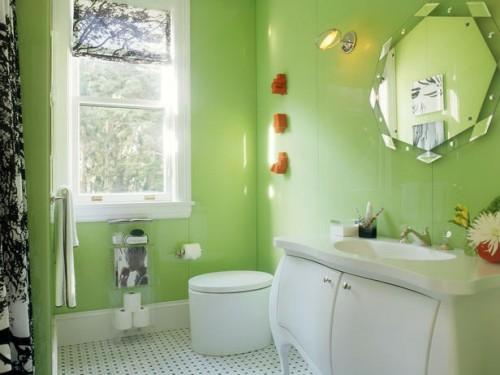bagno-verde-bianco-e-nero