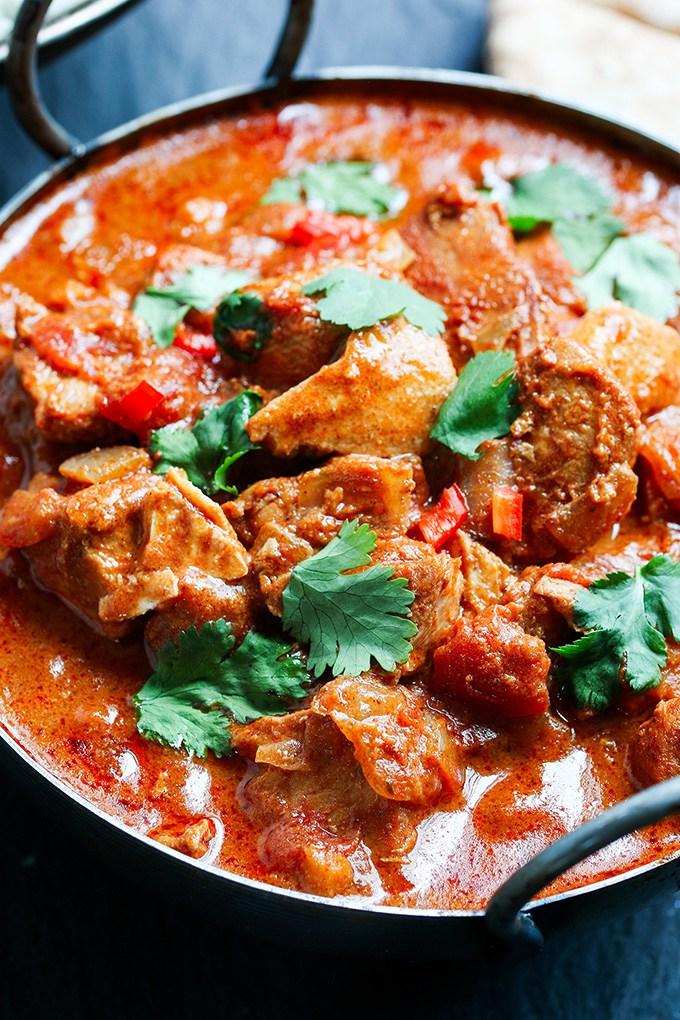 pollo al curry picante portada