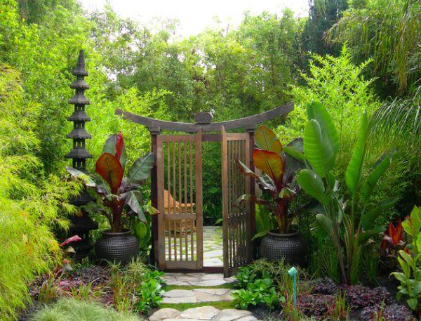 mientras que los jardines japoneses se ubic por los prstamos en gran medida del modelo chino durante varios cientos de aos se