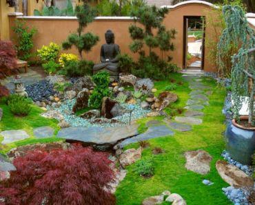 ideas de diseo y composicin de un jardn japons - Jardines Japoneses