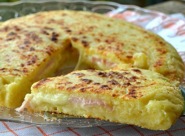 tortilla francesa rellena portda