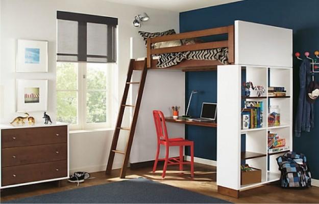 letto-a-soppalco-in-legno-bianco-e-marrone