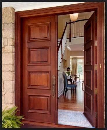 Puertas para exteriores for Puertas de madera para exteriores de casas