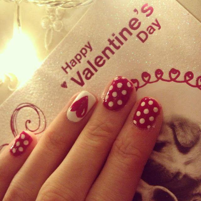 Uñas Para San Valentín Chispiscom