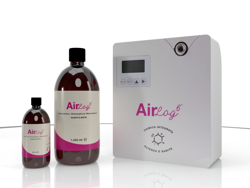 Environmental  instrumental hygiene product Airlog 6