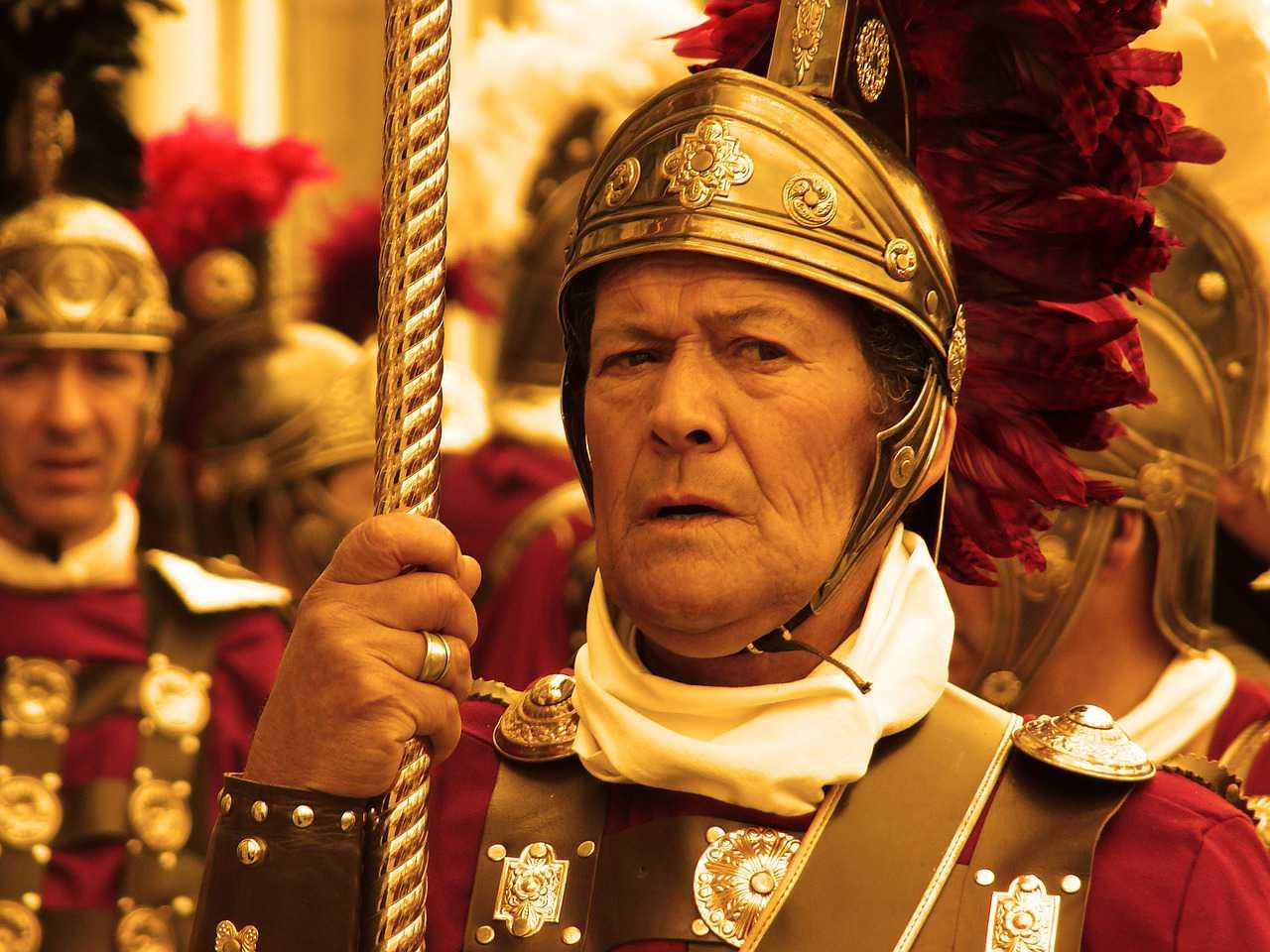 El héroe romano