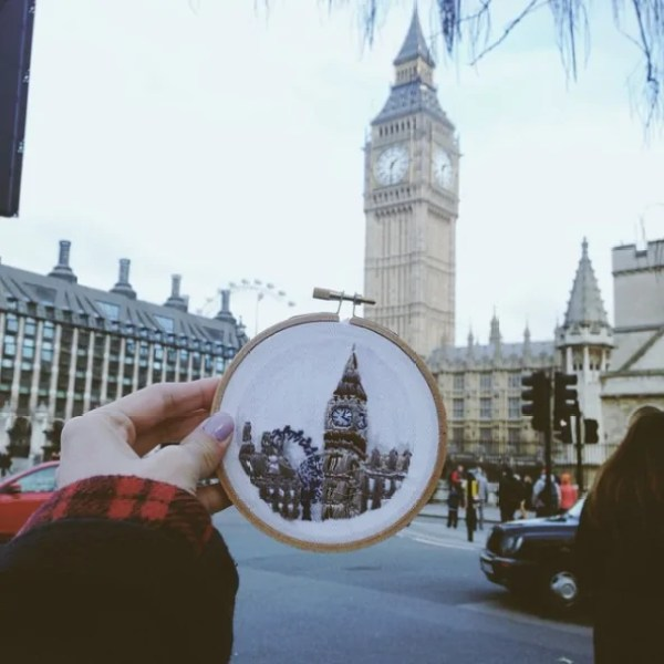 The Houses Of Parliament & Big Ben - London